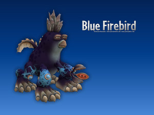 Blue Firebird Desktop Wallpapers