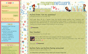 MySimsNetwork