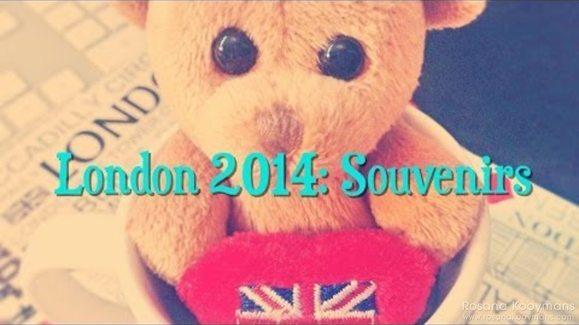 London 2014: Souvenirs Vlog!