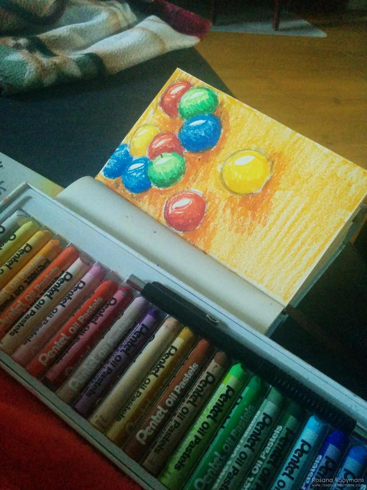 365 - April 14, 2017: Playing with pastels