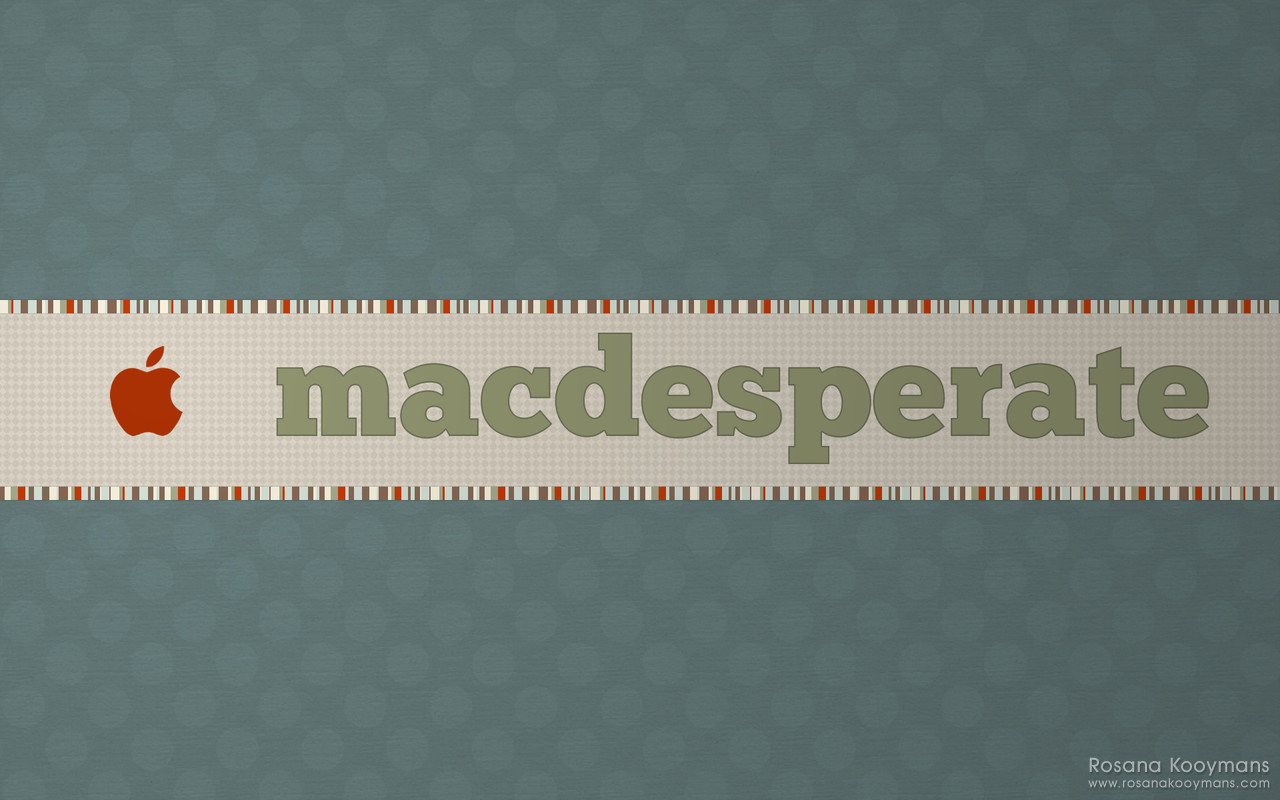 MacDesperate - Winter 2010 Wallpapers: Blue