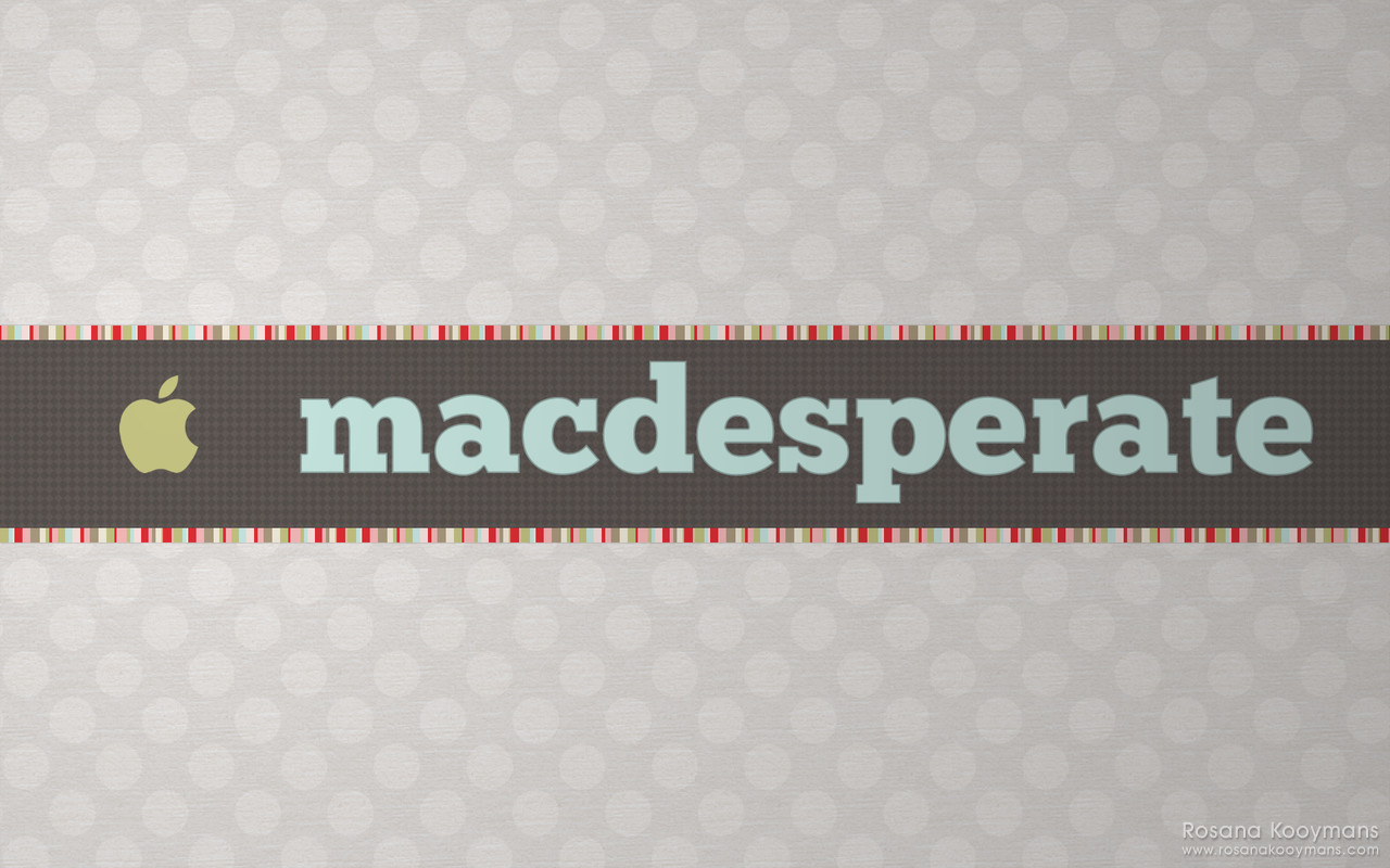 MacDesperate - Winter 2010 Wallpapers: Cream