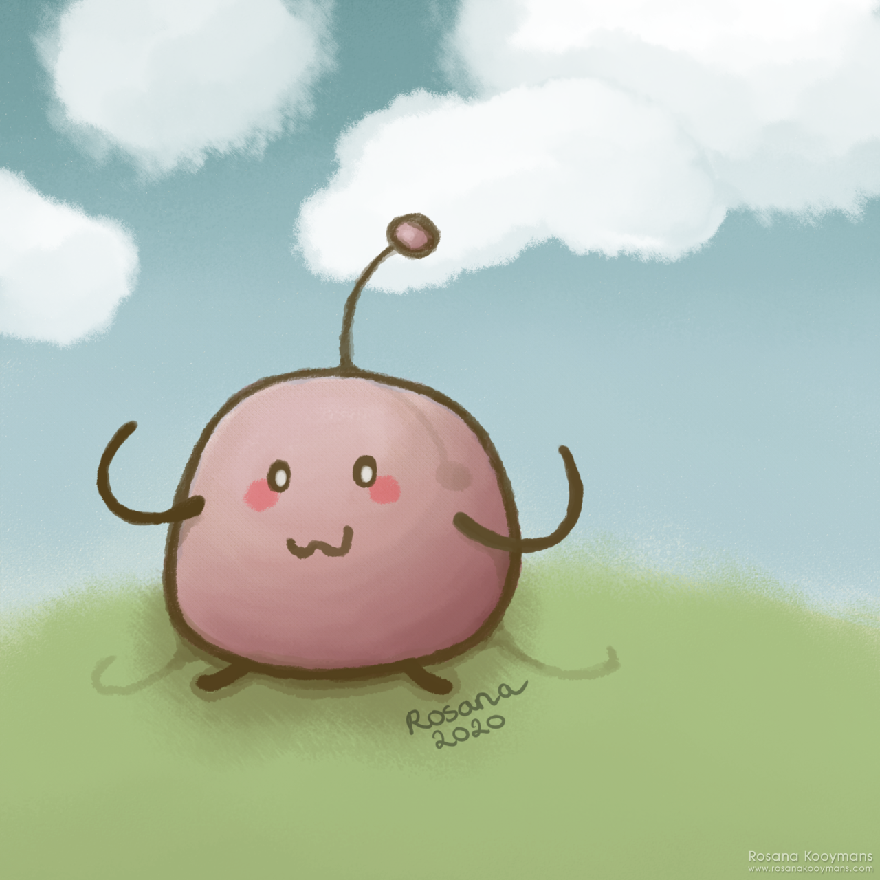 Junimo Illustration by Rosana Kooymans